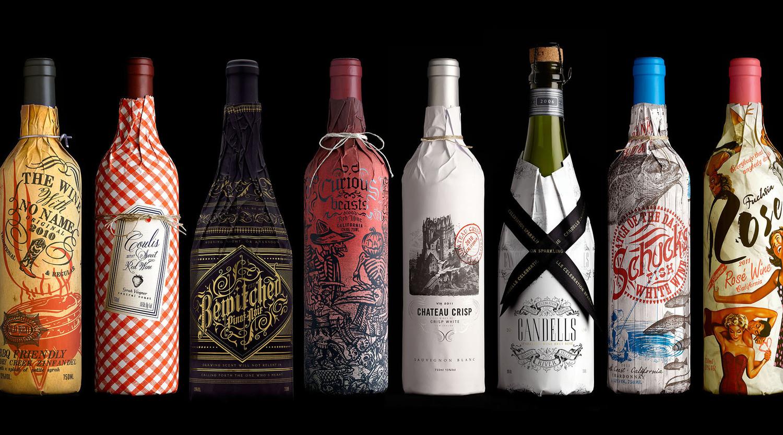 Stranger_Safeway Bottle Sleeves_Group
