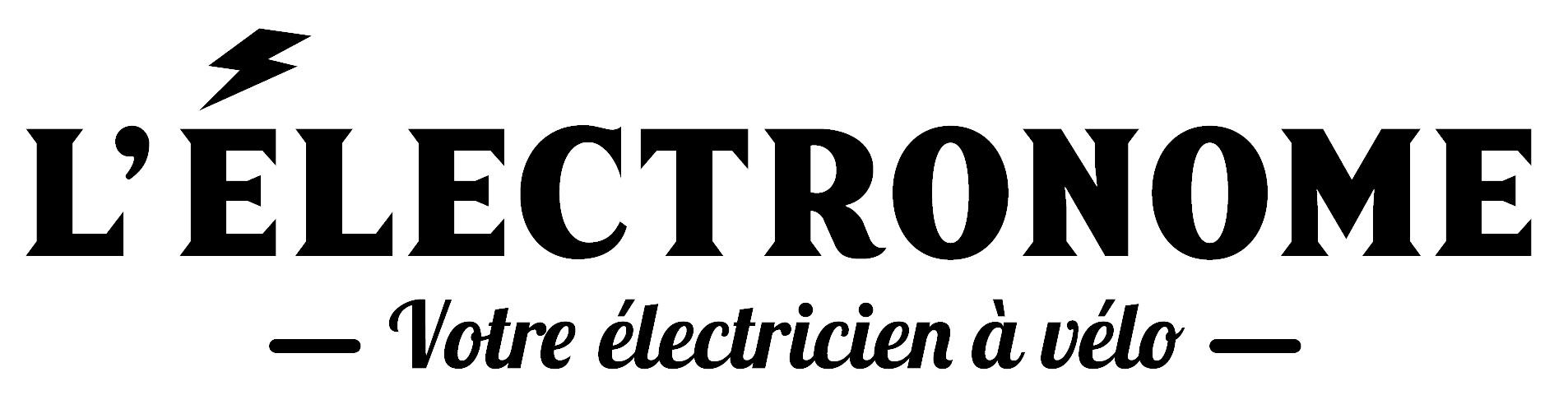 L'électronome, votre électricien à vélo